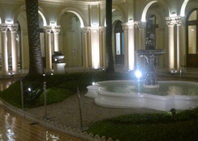 Casa Rosada Patio Palmeras